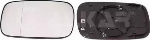 Alkar 6471154 - Зеркальное стекло, наружное зеркало avtodrive.by