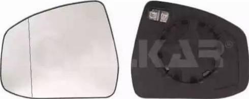 Alkar 6471376 - Зеркальное стекло, наружное зеркало avtodrive.by