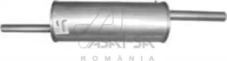 ASAM 01344 - Глушитель выхлопных газов конечный avtodrive.by