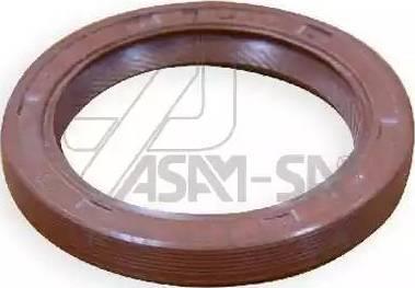 ASAM 01337 - Уплотняющее кольцо, коленчатый вал avtodrive.by