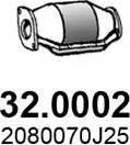 ASSO 32.0002 - Катализатор avtodrive.by