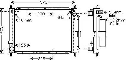 Ava Quality Cooling RTM500 - Модуль охлаждения avtodrive.by