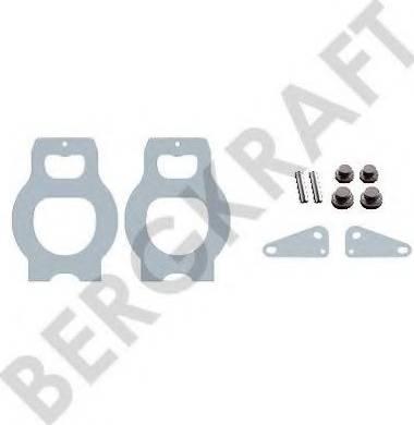 BergKraft BK6103245 - Ремкомплект, компрессор avtodrive.by