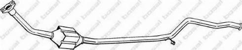 Bosal 099-096 - Катализатор avtodrive.by