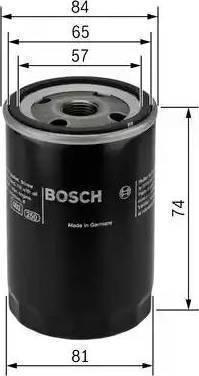 BOSCH P 3316 - Масляный фильтр avtodrive.by