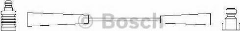 BOSCH 0 986 356 136 - Провод зажигания avtodrive.by