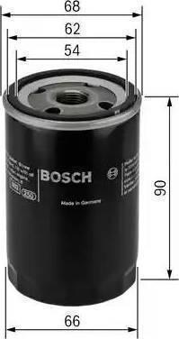 BOSCH 0 451 103 364 - Масляный фильтр avtodrive.by