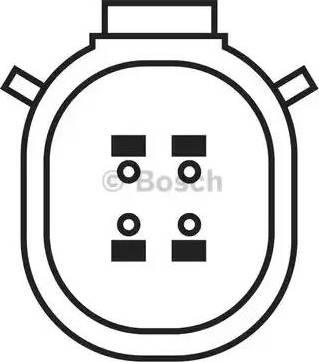 BOSCH 0 258 010 246 - Лямбда-зонд, датчик кислорода avtodrive.by