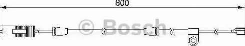 BOSCH 1 987 474 945 - Сигнализатор, износ тормозных колодок avtodrive.by