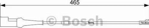 BOSCH 1987473573 - Сигнализатор, износ тормозных колодок avtodrive.by