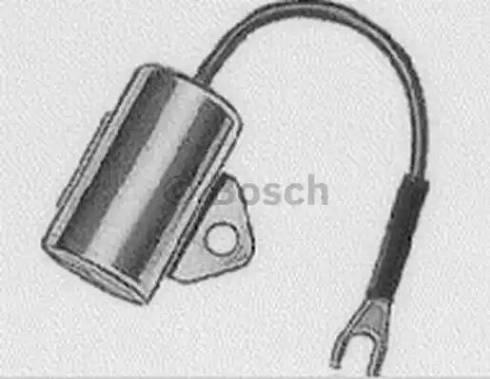BOSCH 1 237 330 809 - Конденсатор, система зажигания avtodrive.by