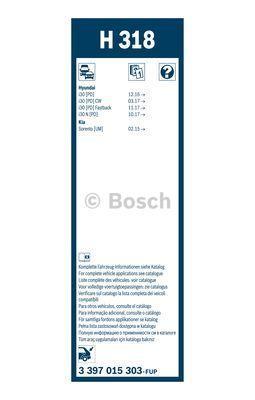 BOSCH 3 397 015 303 - Щетка стеклоочистителя avtodrive.by