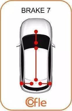 Cofle 10.7621 - Трос, стояночная тормозная система avtodrive.by