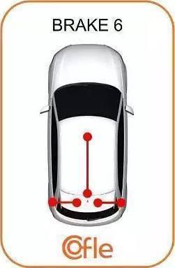 Cofle 11.607 - Трос, стояночная тормозная система avtodrive.by