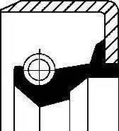 Corteco 12011341B - Уплотняющее кольцо, вспомогательный привод avtodrive.by