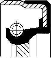 Corteco 010 192 85B - Уплотняющее кольцо, раздаточная коробка avtodrive.by
