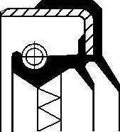 Corteco 01034113B - Уплотняющее кольцо, раздаточная коробка avtodrive.by