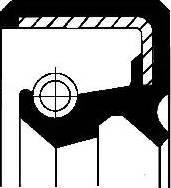 Corteco 19033656B - Уплотняющее кольцо, ступенчатая коробка передач avtodrive.by