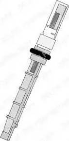 Delphi TSP0695193 - Форсунка, расширительный клапан avtodrive.by