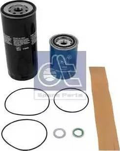 DT Spare Parts 1.34077 - Комплект фильтра avtodrive.by