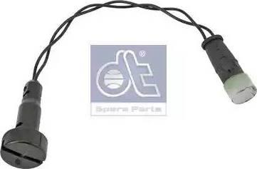 DT Spare Parts 3.62151 - Указатель износа, накладка тормозной колодки avtodrive.by