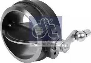 DT Spare Parts 3.25521 - Выпускная заслонка, моторный тормоз avtodrive.by