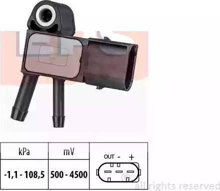 EPS 1993269 - Датчик, давление выхлопных газов avtodrive.by
