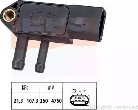 EPS 1.993.266 - Датчик, давление выхлопных газов avtodrive.by