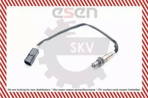 Esen SKV 09SKV738 - Лямбда-зонд, датчик кислорода avtodrive.by