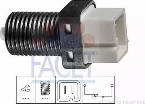 FACET 7.1217 - Выключатель, привод сцепления (Tempomat) avtodrive.by