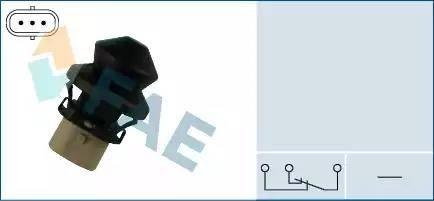 FAE 67340 - Выключатель, контакт двери avtodrive.by