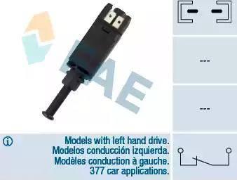 FAE 24420 - Выключатель фонаря сигнала торможения avtodrive.by