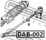Febest DAB002 - Подвеска, рулевое управление avtodrive.by