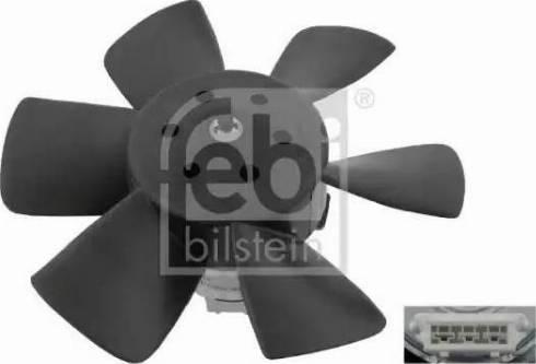 Febi Bilstein 06990 - Вентилятор, охлаждение двигателя avtodrive.by