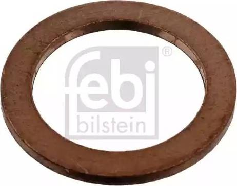 Febi Bilstein 07215 - Уплотнительное кольцо, резьбовая пробка маслосливного отверстия avtodrive.by