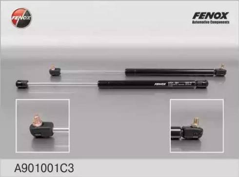 Fenox A901001C3 - Газовая пружина, крышка багажник avtodrive.by