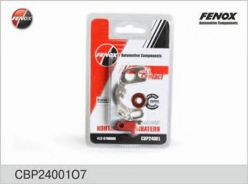 Fenox CBP24001O7 - Контактная группа, распределитель зажигания avtodrive.by