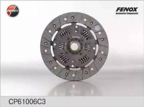 Fenox CP61006C3 - Диск сцепления, фрикцион avtodrive.by