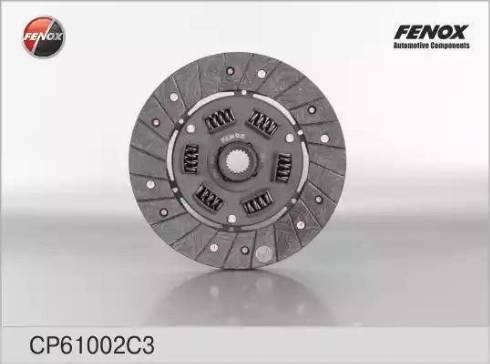 Fenox CP61002C3 - Диск сцепления, фрикцион avtodrive.by
