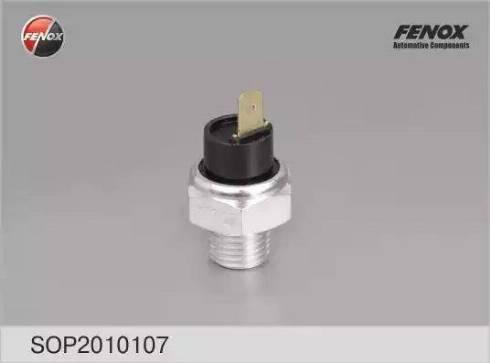 Fenox SOP20101O7 - Датчик, давление масла avtodrive.by