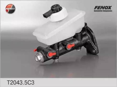 Fenox T2043.5C3 - Главный тормозной цилиндр avtodrive.by