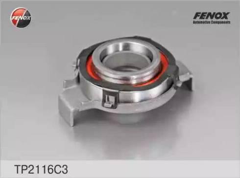 Fenox TP2116C3 - Нажимной диск сцепления avtodrive.by