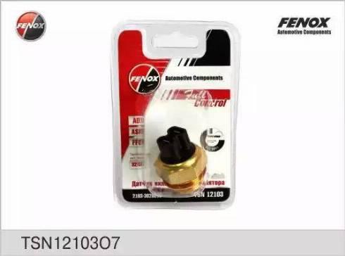 Fenox TSN12103O7 - Термовыключатель, вентилятор радиатора / кондиционера avtodrive.by