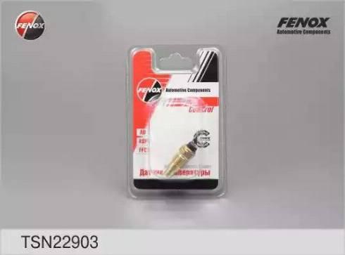 Fenox TSN22903 - Датчик, температура охлаждающей жидкости avtodrive.by