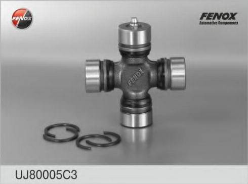 Fenox UJ80005C3 - Шарнир, колонка рулевого управления avtodrive.by