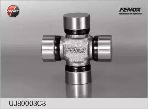 Fenox UJ80003C3 - Шарнир, колонка рулевого управления avtodrive.by