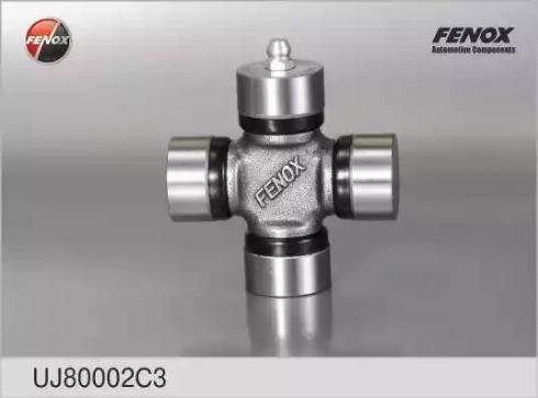 Fenox UJ80002C3 - Шарнир, колонка рулевого управления avtodrive.by