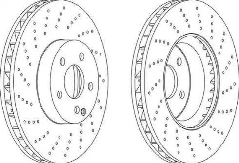 SAT ST-A2044211012 - Экономичный тормозной диск avtodrive.by