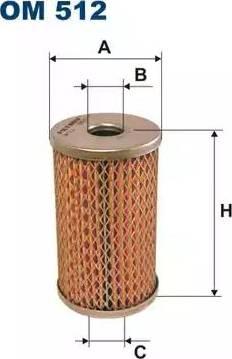 Filtron OM512 - Фильтр, Гидравлическая система привода рабочего оборудования avtodrive.by