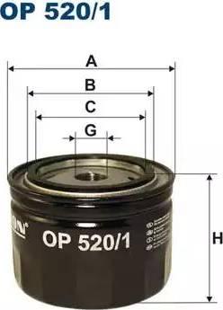 Filtron OP5201 - Гидрофильтр, автоматическая коробка передач avtodrive.by